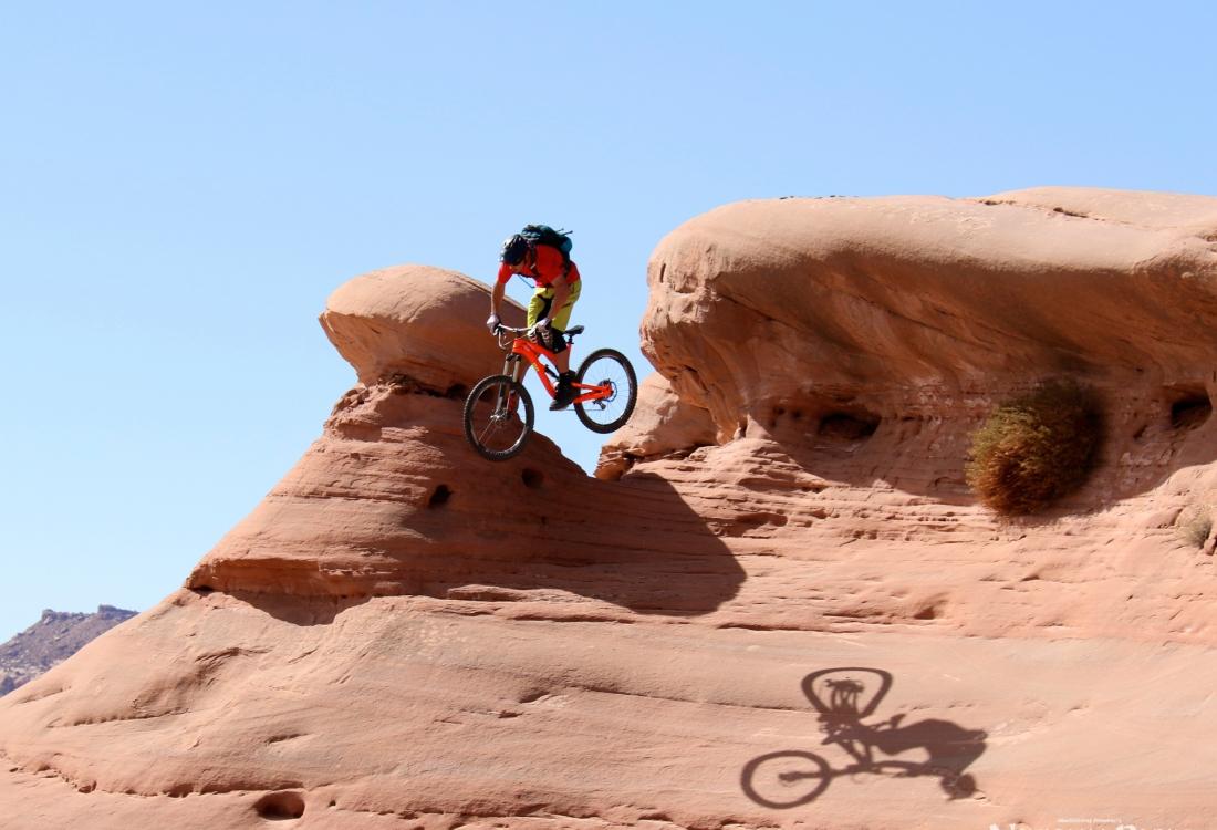 Mountain Biking in Moab