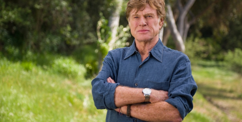 Narrator Robert Redford